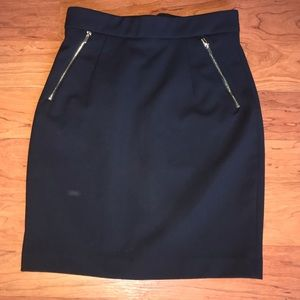 H&M Side Zippers Pencil Skirt